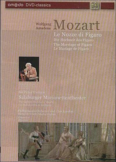 Mozart - Le Nozze  di Figaro - DVD images