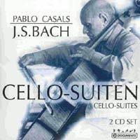 Imagens Pablo Casals: Johann Sebastian Bach - Cello Suites (2CD)