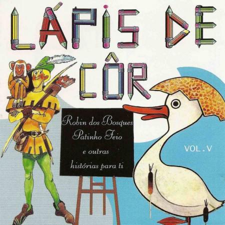 Imagens Robin dos Bosques - Col. Lapis de Côr