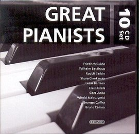 Imagens Various Artists - Great Pianists (10CD)