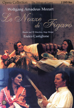 Wolfgang Amadeus Mozart  - Le Nozze di Figaro - 2DVD images