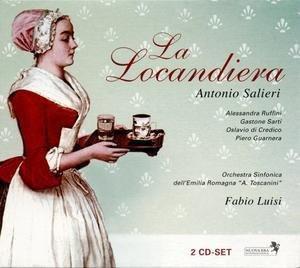 Imagens António Salieri - La Locandiera (2CD)