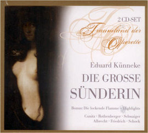 Imagens Eduard Kunneke - Die Grobe Sunderin (2CD)