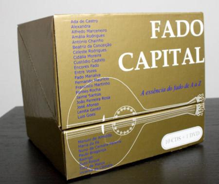 Fado Capital - A Essência do Fado de A a Z (10CD+DVD) images