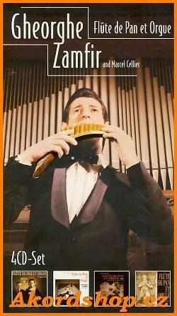 Gheorghe Zamfir & Marcel Cellier - Flute De Pan & Orgue (4CD) images