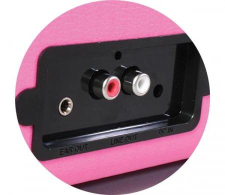 Imagens Gira Discos Vinyl Styl - Pink