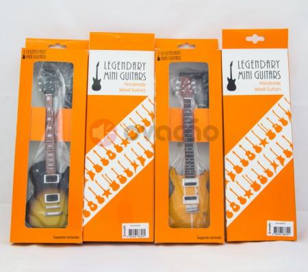 Imagens Mini-Guitarra Gibson Les Paul Custom - Jimmy Page - Led Zeppelin
