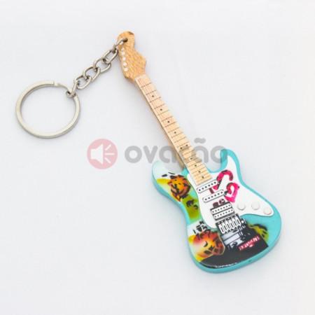Imagens Porta-Chaves Guitarra Billie Joe Armstrong - Green Day