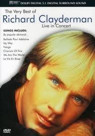 Imagens Richard Clayderman - Live In Concert - DVD