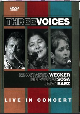 Imagens Three Voices - Live in Concert - DVD