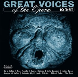 Imagens Various Composers: Great Voices Of The Opera (10CD)