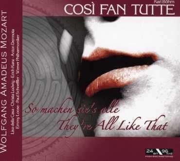 Imagens Wolfgang Amadeus Mozart - Cosi Fan Tutte (2CD)