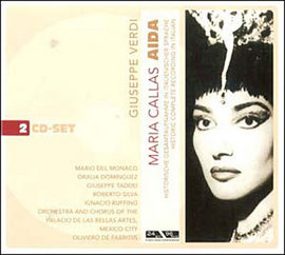 Imagens Giuseppe Verdi - Maria Callas: Aida (2CD)