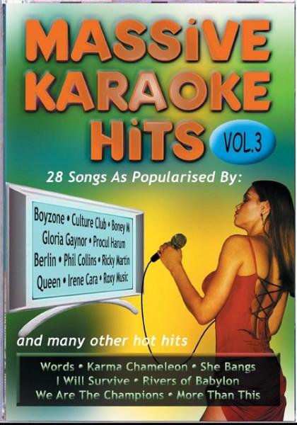Imagens Massive Karaoke Hits 3