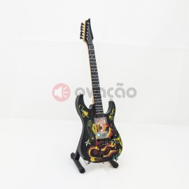 Mini-Guitarra ESP Betty Boop - Kirk Hammett - Metallica images