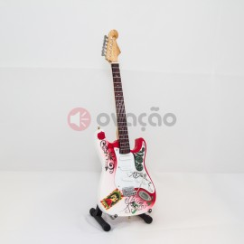 Mini-Guitarra Fender Strato Monterey Pop - Jimi Hendrix images