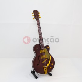 Imagens Mini-Guitarra Gretsch Country Gentleman - George Harrison - The Beatles