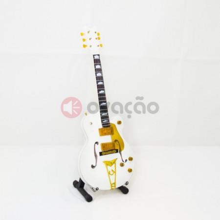 Mini-Guitarra White Falcon - John Frusciante - Red Hot Chili Pepers imágenes