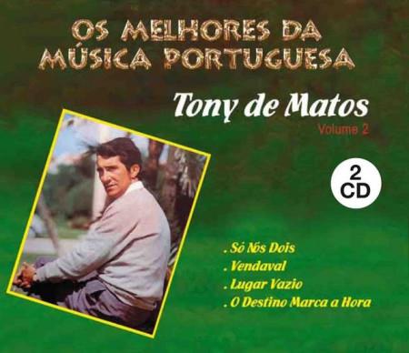 Imagens Os Melhores da Musica Portuguesa-Tony de Matos (Caixa Dupla)