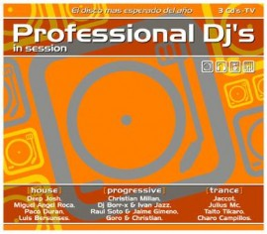 Imagens Professional DJs 2006 (3CD)