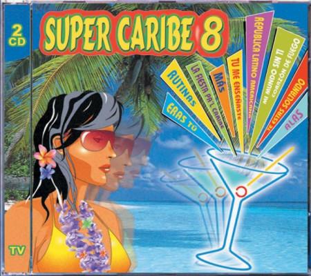 Imagens Vários Artistas - Super Caribe 8 (2CD)