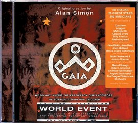 Imagens Alan Simon - Gaia World Event (Cd + Dvd Bonús)