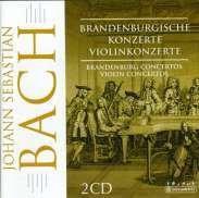 Johann S. Bach - Brandenburg, Violin Concertos (2 CD) images