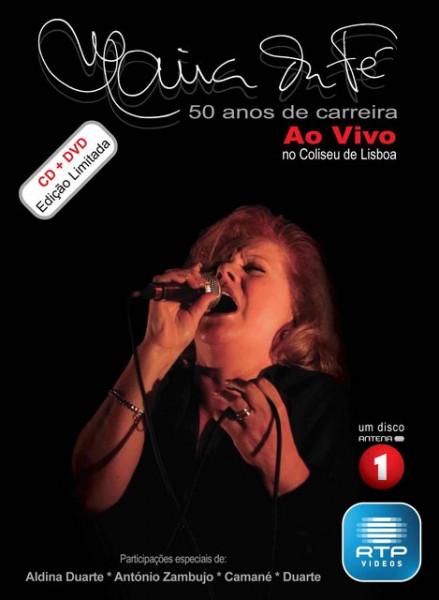 Imagens Maria da Fé - 50 Anos de Carreira, Edição Especial (CD+DVD)