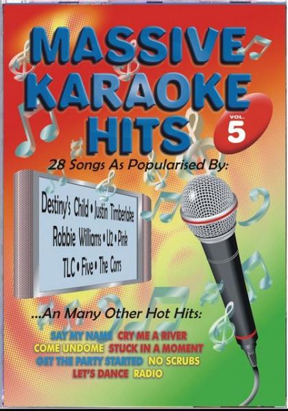 Massive Karaoke Hits 5 images