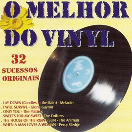 Imagens O Melhor do Vinyl - 32 Sucessos Originais (Duplo)