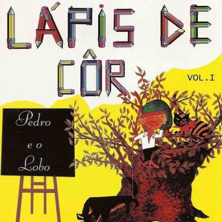 Imagens Pedro e o Lobo - Col. Lapis Cor