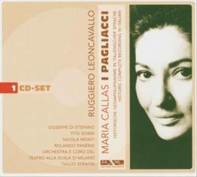 Imagens Ruggiero Leoncavallo - Maria Callas: I Pagliacci