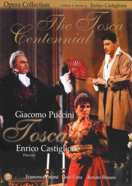 Imagens Giacomo Puccini - The Tosca Centennial - DVD