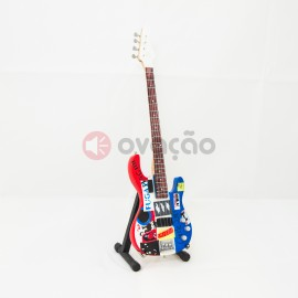 Mini-Guitarra Fender Psychedelic Jazz Bass - Flea images