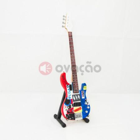 Imagens Mini-Guitarra Fender Psychedelic Jazz Bass - Flea