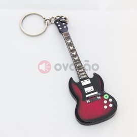 Imagens Porta-Chaves Guitarra Angus Young - AC/DC