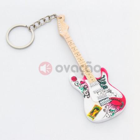 Porta-Chaves Guitarra Jimi-Hendrix - Monterey Pop images