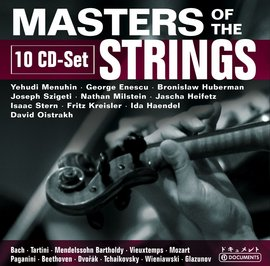 Various Composers: Masters Of Strings (10CD) images