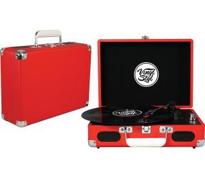 Gira Discos Vinyl Styl - Red
