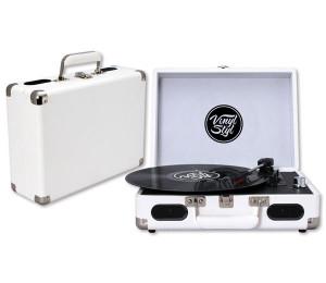 Gira Discos Vinyl Styl - White