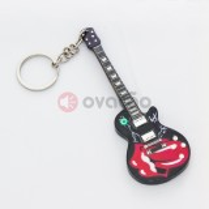 Porta-Chaves Guitarra Tongue Tribute - Rolling Stones