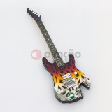 Iman Guitarra George Linch - Skull Flame