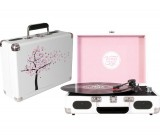 Turntable Portable - Cherry Blossom