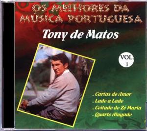 Os Melhores da Musica Portuguesa-Tony de Matos (Caixa Dupla)
