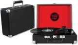 Turntable Portable USB REC - Black