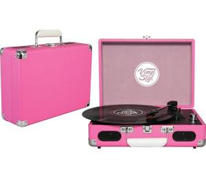 Gira Discos Vinyl Styl - Pink