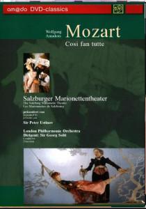 Mozart - Cosi Fan Tutte - DVD