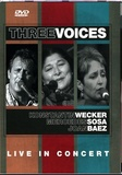 Three Voices - Live in Concert - DVD