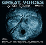 Various Composers: Great Voices Of The Opera (10CD)