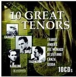 10 Great Tenors (10CD)